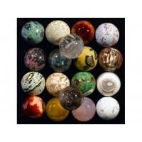 Sfere din cristale si pietre semipretioase