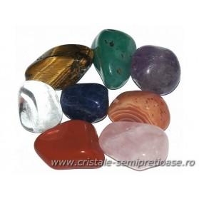 Set cristale pe chakre - 3 cm